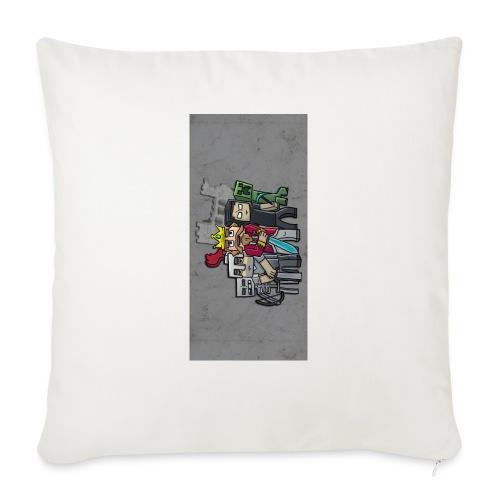 "sparkleziphone5 - Throw Pillow Cover 17.5"" x 17.5"""