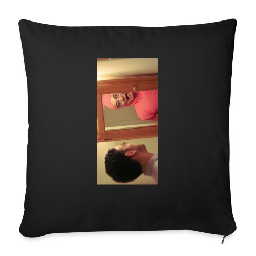"pinkiphone5 - Throw Pillow Cover 17.5"" x 17.5"""