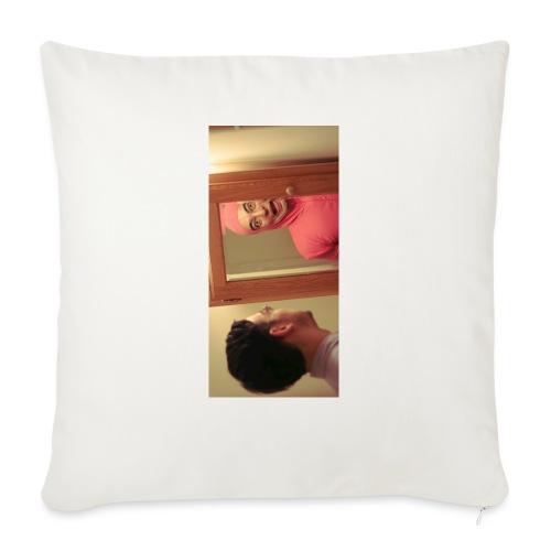 "pinkiphone5 - Throw Pillow Cover 18"" x 18"""