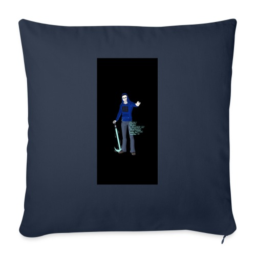 "stuff i5 - Throw Pillow Cover 18"" x 18"""