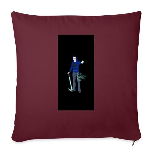 "stuff i5 - Throw Pillow Cover 18"" x 18"""