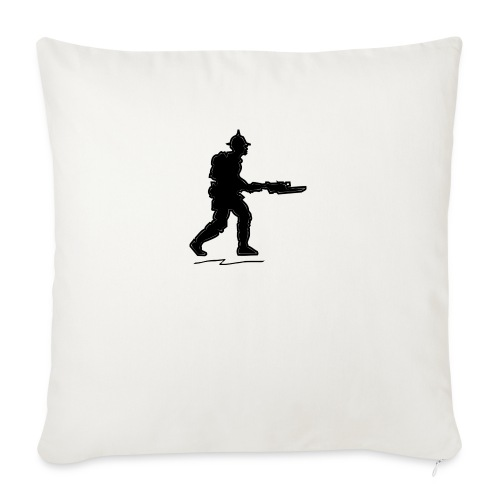 """ww1 infantry - Throw Pillow Cover 17.5"""" x 17.5"""""""