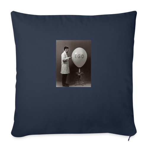 """Ego - Throw Pillow Cover 18"""" x 18"""""""