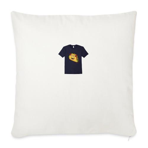 "evil taco merch - Throw Pillow Cover 18"" x 18"""