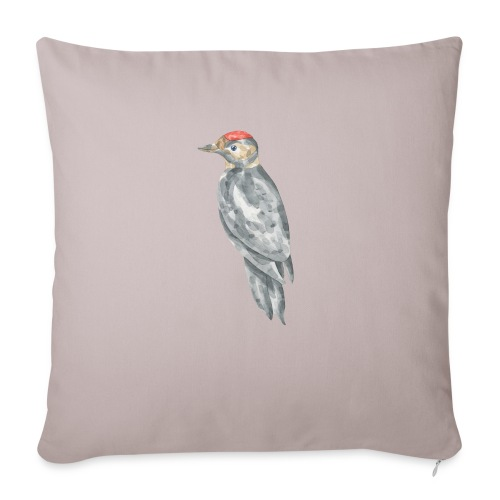 "Bird - Throw Pillow Cover 18"" x 18"""