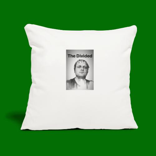 """Nordy The Divided - Throw Pillow Cover 17.5"""" x 17.5"""""""