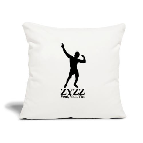 "Zyzz Veni Vidi Vici - Throw Pillow Cover 17.5"" x 17.5"""