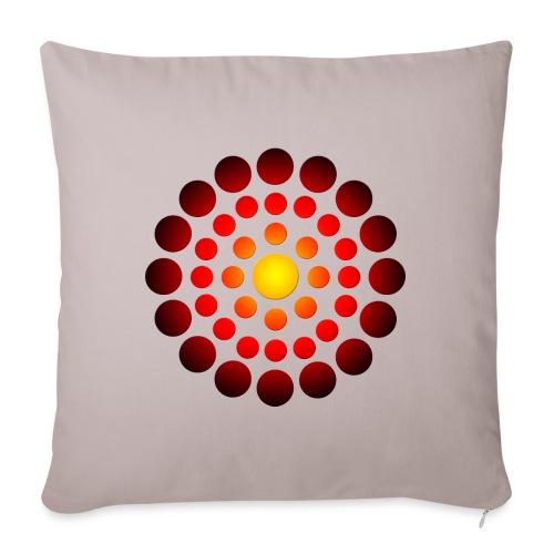 """campfire symbol - Throw Pillow Cover 18"""" x 18"""""""