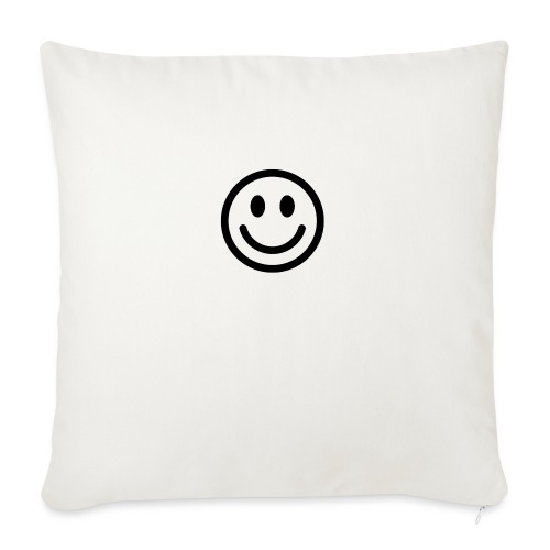 """smile dude t-shirt kids 4-6 - Throw Pillow Cover 18"""" x 18"""""""