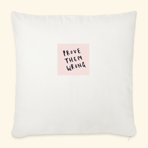 """show em what you about - Throw Pillow Cover 18"""" x 18"""""""