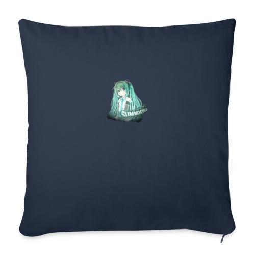 """Summrrz Logo Transparent - Throw Pillow Cover 17.5"""" x 17.5"""""""