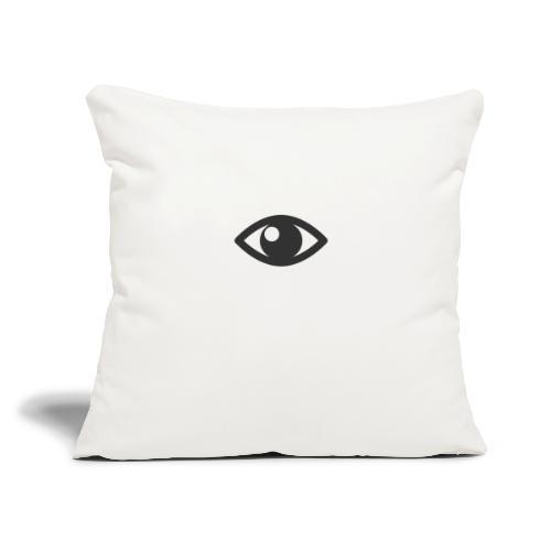 "Eye - Throw Pillow Cover 17.5"" x 17.5"""