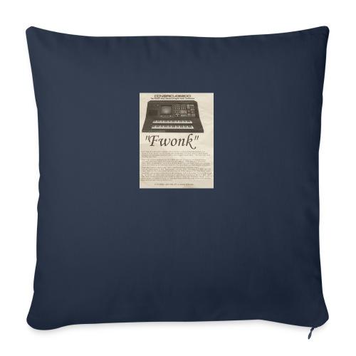 "fwonk - Throw Pillow Cover 18"" x 18"""