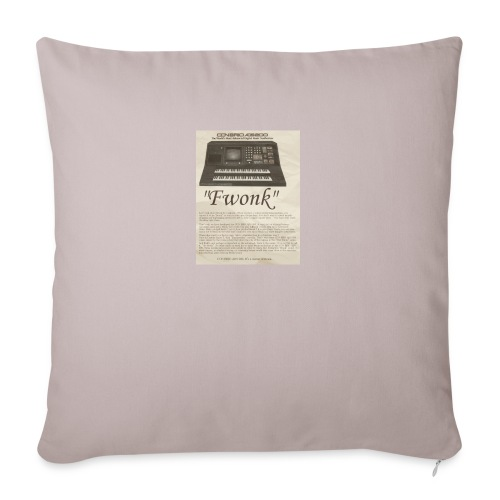 "fwonk - Throw Pillow Cover 18"" x 18"""