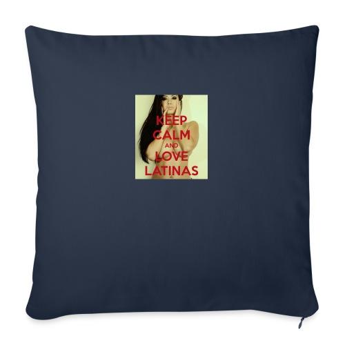 "Latinas do it better - Throw Pillow Cover 18"" x 18"""