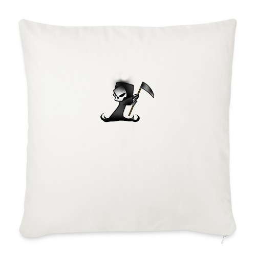 """the grim - Throw Pillow Cover 18"""" x 18"""""""
