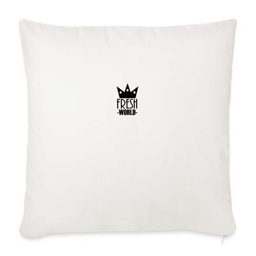 "Fresh World - Throw Pillow Cover 18"" x 18"""
