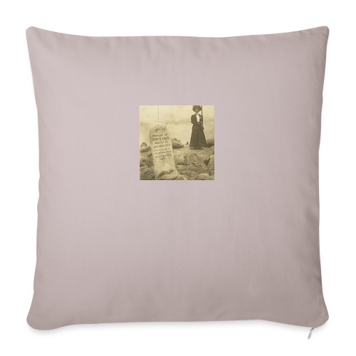 "Mountain Rats - Throw Pillow Cover 18"" x 18"""