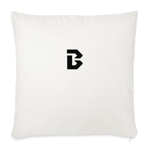 "Click here for clothing and stuff - Throw Pillow Cover 18"" x 18"""