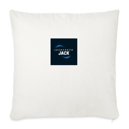 "JackCodyH blue lightning bolt - Throw Pillow Cover 17.5"" x 17.5"""