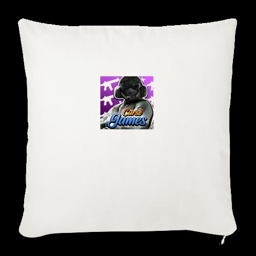 """Curse Gaming Logo - Throw Pillow Cover 18"""" x 18"""""""