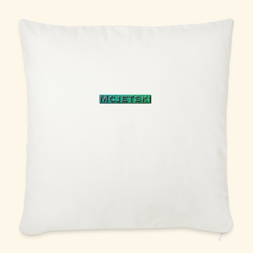 "Channel - Throw Pillow Cover 18"" x 18"""