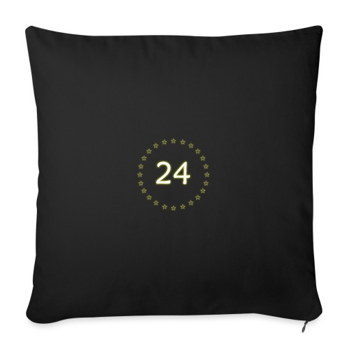 """24 stars - Throw Pillow Cover 18"""" x 18"""""""