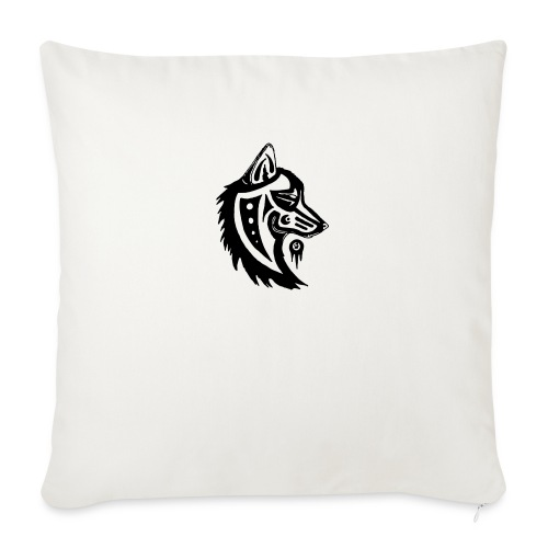 """wolfman - Throw Pillow Cover 17.5"""" x 17.5"""""""
