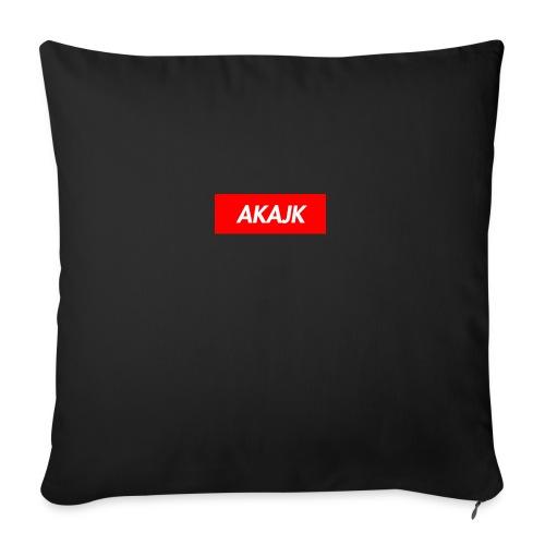 "AKAJK - Throw Pillow Cover 18"" x 18"""