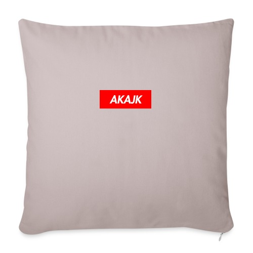 "AKAJK - Throw Pillow Cover 18"" x 18"""