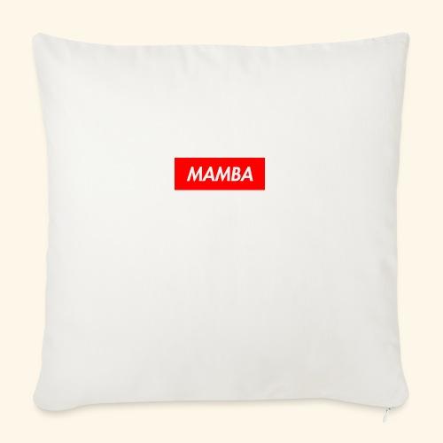 "Supreme Mamba - Throw Pillow Cover 18"" x 18"""