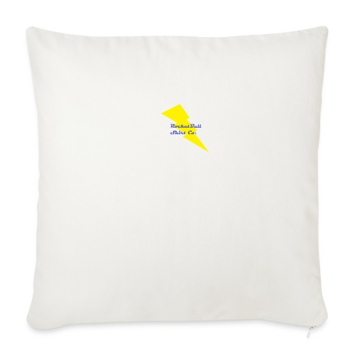"RocketBull Shirt Co. - Throw Pillow Cover 18"" x 18"""