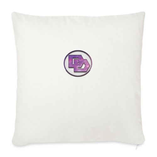 "DerpDagg Logo - Throw Pillow Cover 18"" x 18"""