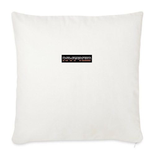 "nvpkid shirt - Throw Pillow Cover 18"" x 18"""