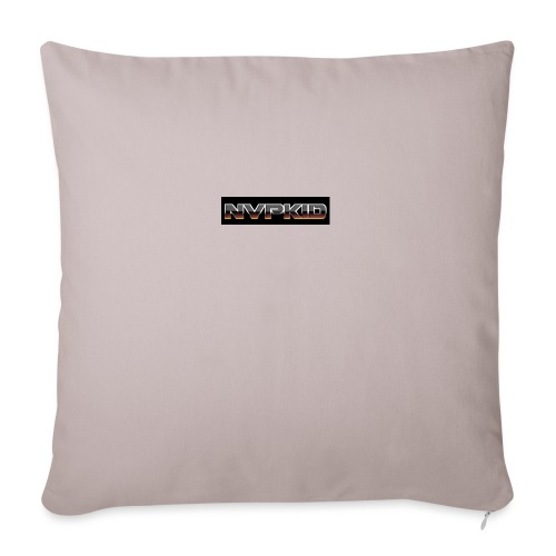 "nvpkid shirt - Throw Pillow Cover 17.5"" x 17.5"""