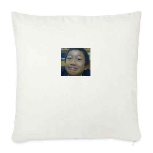 """Pat's Face - Throw Pillow Cover 18"""" x 18"""""""