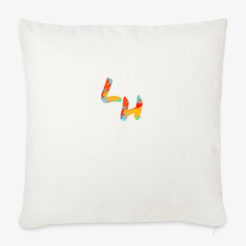"Los Hermanos Logo - Throw Pillow Cover 18"" x 18"""