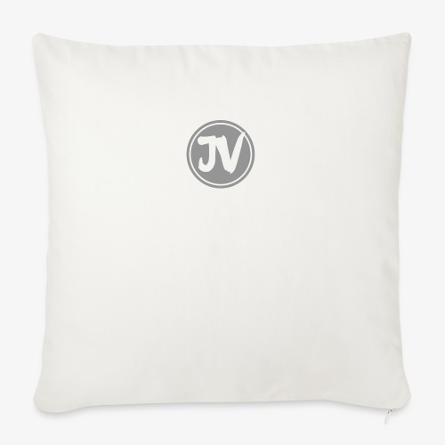 "My logo for channel - Throw Pillow Cover 18"" x 18"""