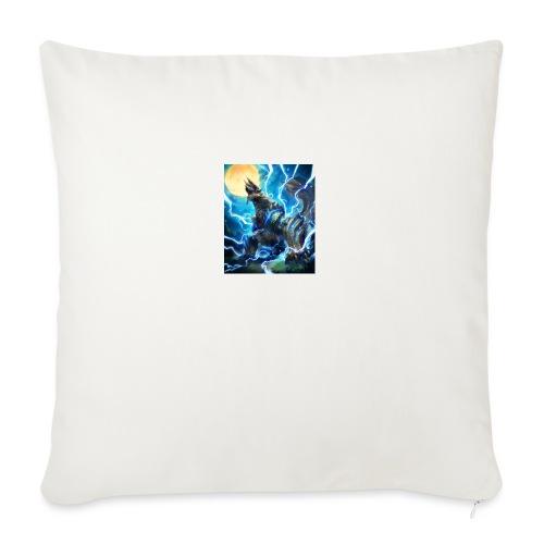 """Blue lighting dragom - Throw Pillow Cover 17.5"""" x 17.5"""""""