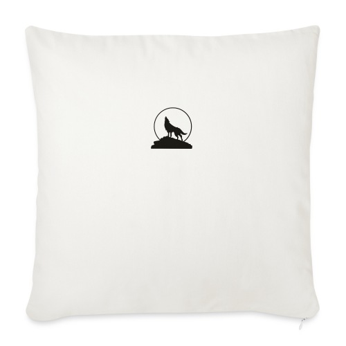 """Wolf pp - Throw Pillow Cover 17.5"""" x 17.5"""""""