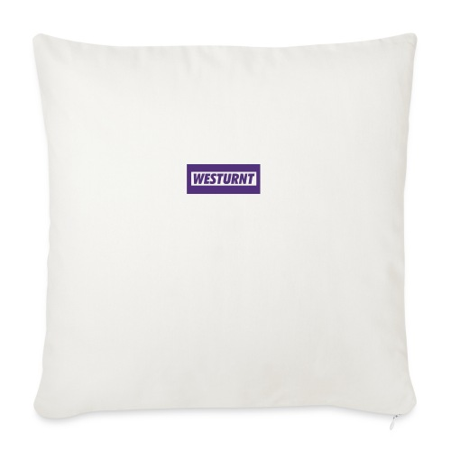 "Westurnt - Throw Pillow Cover 18"" x 18"""