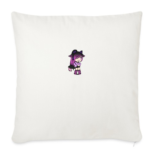 """Cool gal - Throw Pillow Cover 17.5"""" x 17.5"""""""