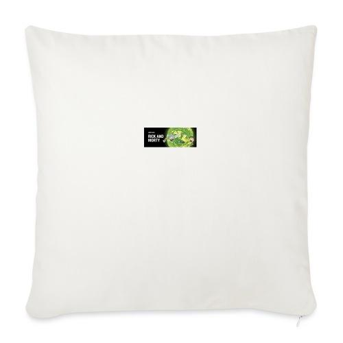 "flippy - Throw Pillow Cover 18"" x 18"""