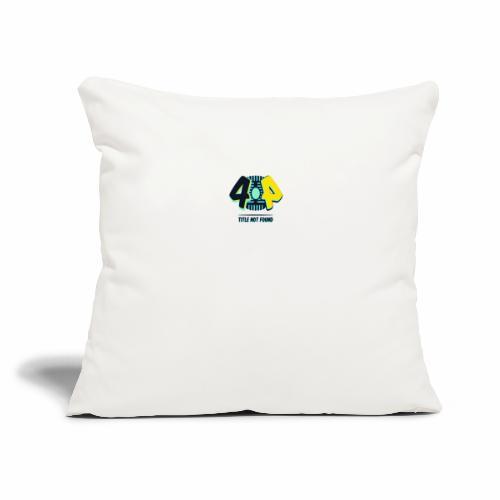 """404 Logo - Throw Pillow Cover 18"""" x 18"""""""