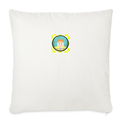 """My Face! - Throw Pillow Cover 18"""" x 18"""""""