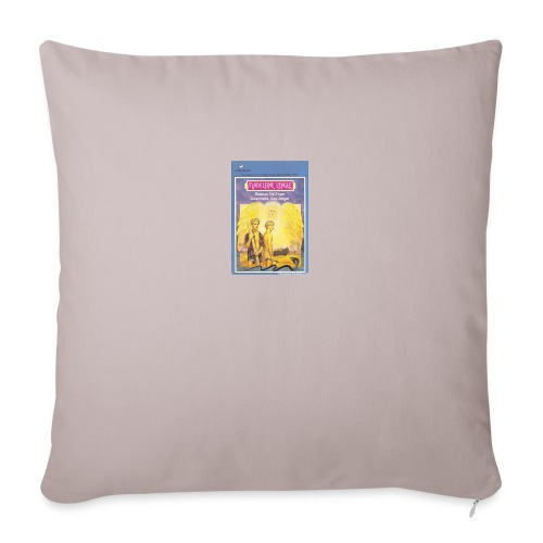 "Gay Angel - Throw Pillow Cover 18"" x 18"""
