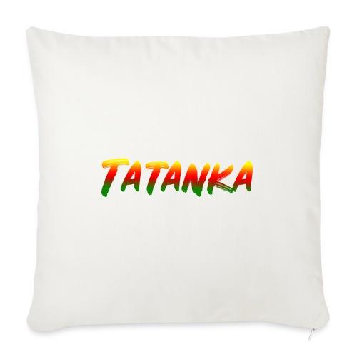 "Tatanka - Throw Pillow Cover 18"" x 18"""