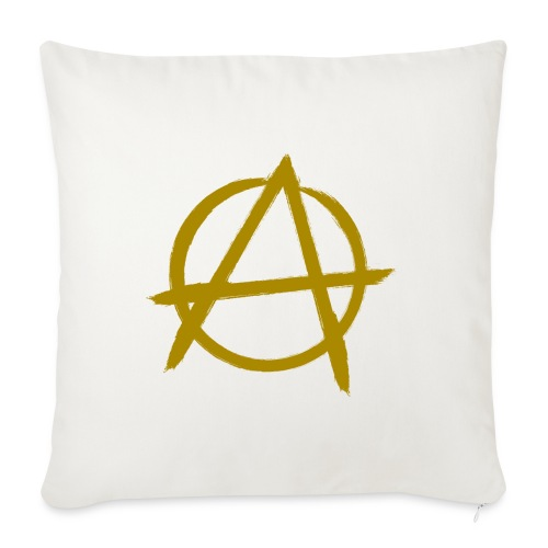 """Anarchy - Throw Pillow Cover 18"""" x 18"""""""