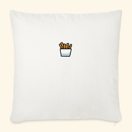 """Fries - Throw Pillow Cover 18"""" x 18"""""""