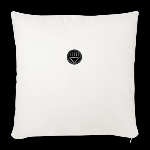 "Knight654 Logo - Throw Pillow Cover 17.5"" x 17.5"""